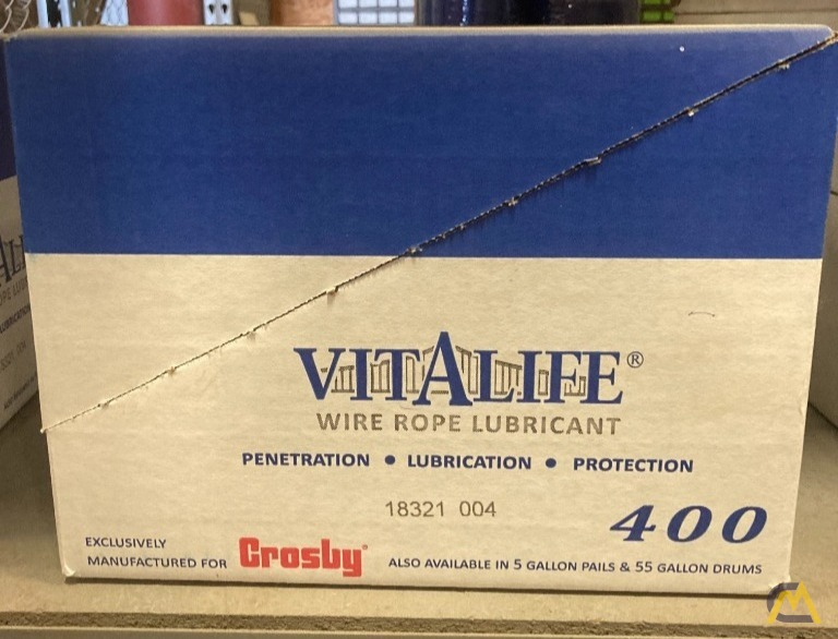 Crosby Vitalife 400 Wire Rope Lubricant  0