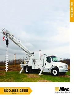 Digger Derricks Altec Specifications CraneMarket