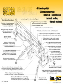 Boom Lifts-Articulating Specifications CraneMarket Page 3