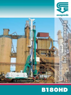 Pile Driving Rigs Specifications CraneMarket