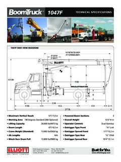 Boom Trucks Specifications CraneMarket Page 20 on