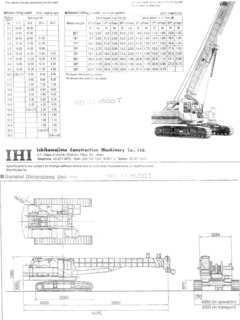 IHI CCH500T Specifications CraneMarket on