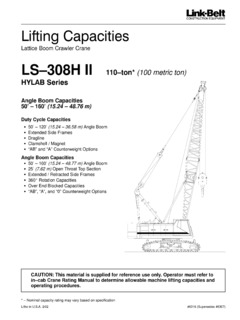 CraneMarket specifications Page 537
