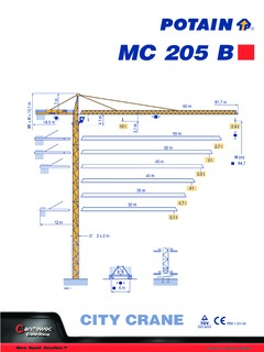 Potain Mc 205 B Specifications Cranemarket