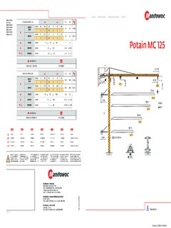 Potain Mc 125 Specifications Cranemarket