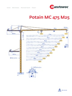 Potain Mc 475 M25 Specifications Cranemarket