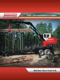 Forestry & Logging Equipment Prentice 2210 Specifications