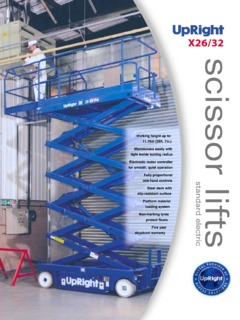 UpRight X26 Specifications CraneMarket on upright ul 24 manual, auto repair manual diagrams, cover lift diagrams, upright x20n position safety light, upright scissor lifts operating manuals,